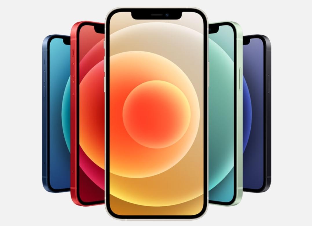 5色のiPhone12